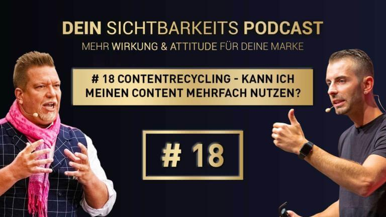# 18 Contentrecycling - Kann ich meinen Content mehrfach nutzen?